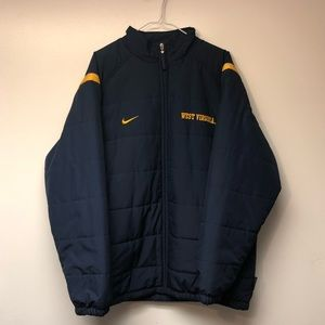 Vintage West Virginia Nike Coat